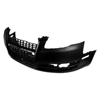 AUDI A4 05-08 // AUDI A4 CABRIO- CONVERTIBLE 07-09 FRONT BUMPER WITHOUT HEADLIGHT WASHER WITHOUT SPORTS PKG PRIMED