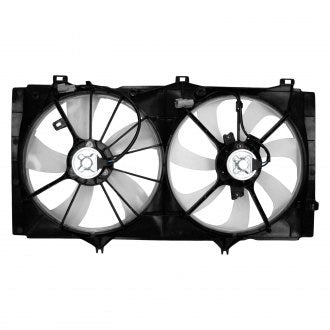 TOYOTA CAMRY 10-11 COOLING FAN ASSEMBLY WITHOUT TOW PKG 4CYL AT