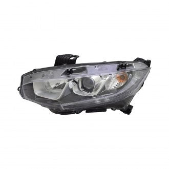 HONDA CIVIC HB 17-19 & SDN/CPE 16-19 HEAD LAMP HALOGEN DRIVER SIDE CAPA