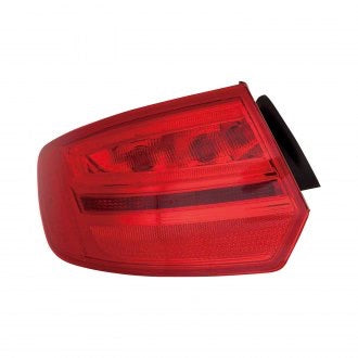 AUDI A3 08-13 DRIVER SIDE TAILLIGHT HQ FROM 2008 VIN A112779