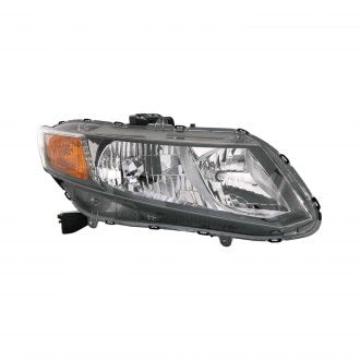 HONDA CIVIC 2012 SDN CPE PASSENGER SIDE HEAD LAMP