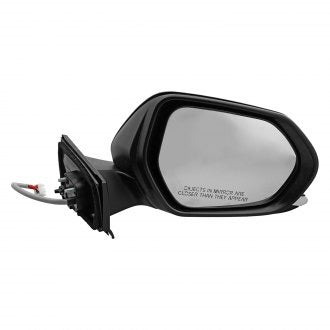 TOYOTA PRIUS 16-17 PASSENGER SIDE DOOR MIRROR POWER HTD WITH OUT BLIND SPOT MATT BLACK COVER