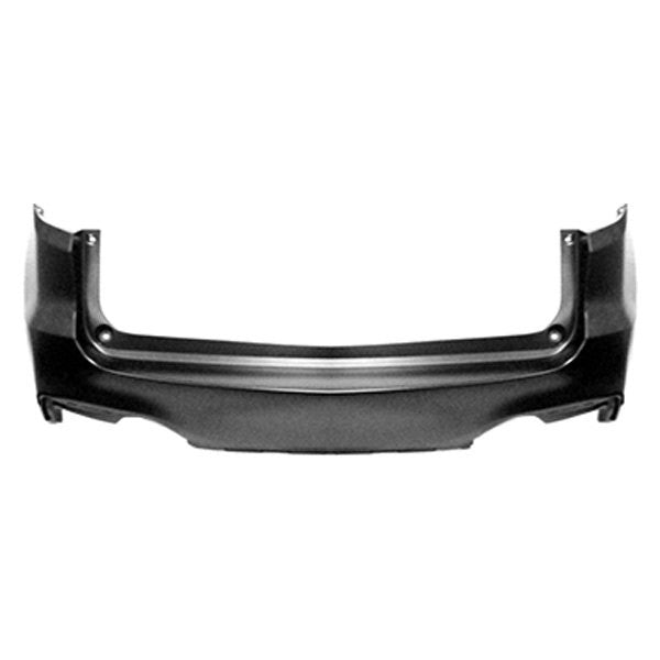 ACURA RDX 16-18 BUMPER REAR UPPER WITH OUT SENSOR CAPA CERTIFIED