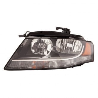 AUDI A4 09-12 // S4 10-12 // DRIVER SIDE HEAD LAMP HALOGEN SEDAN/WAGON HQ