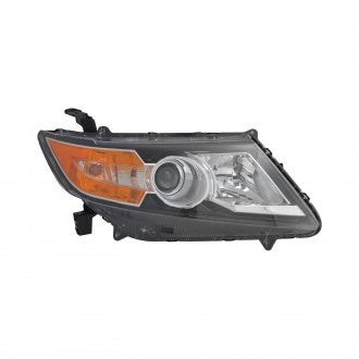 HONDA ODYSSEY 14-17 PASSENGER SIDE HEAD LAMP HALOGEN HQ
