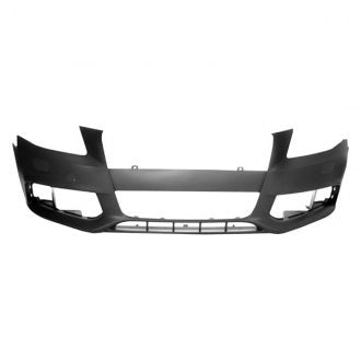AUDI A4 09-12 // S4 10-12 FRONT BUMPER PRIMED WITHOUT S LINE MODEL , WITH WASHER