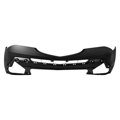 BUMPER FRONT PRIMED WITH OUT WASHER HOLE 07-09 CAPA