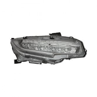HONDA CIVIC SDN,CPE 16-19/HB 17-19 HEAD LAMP LED PASSENGER SIDE EX,EXL,EXT,MODEL HQ