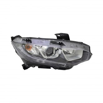 HONDA CIVIC HB 17-19 / & SDN/CPE 16-19 HEAD LAMP HALOGEN DRIVER SIDE