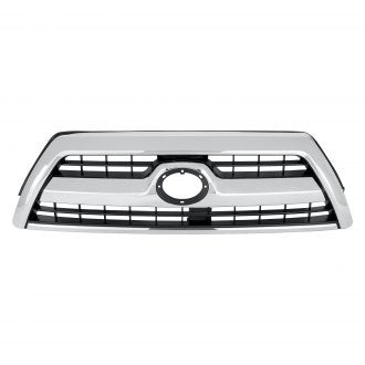TOYOTA 4RUNNER 06-09 FRONT GRILLE CHROME/BLACK SR5 MODEL