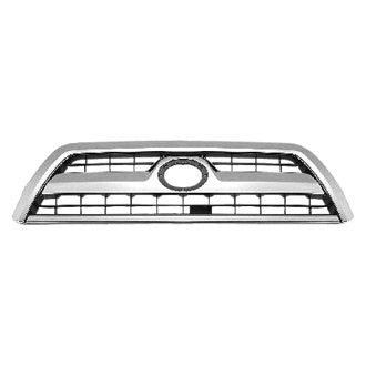 TOYOTA 4RUNNER 06-09 FRONT GRILLE CHROME/BLACK SPORT MODEL