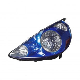 HONDA FIT 07-08 DRIVER SIDE HEAD LAMP VIVID BLUE (CODE B520P) HQ