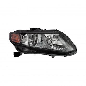 HONDA CIVIC 13-15 SDN / HYB / CPE 2013 PASSENGER SIDE HEAD LAMP HALOGEN