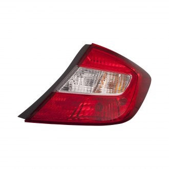 HONDA CIVIC 2012 SDN PASSENGER SIDE TAIL LAMP