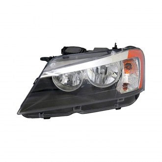 BMW X3 11-14 DRIVER SIDE HEADLIGHT HALOGEN HQ