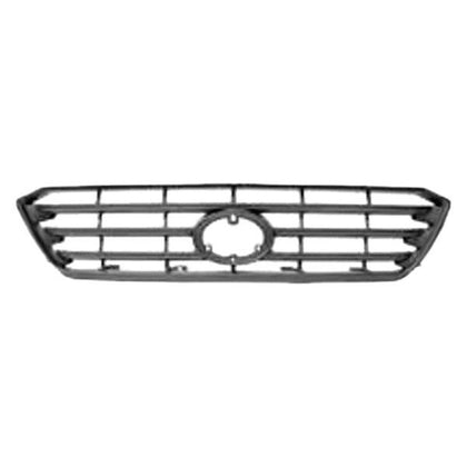TOYOTA HIGHLANDER 08-10 FRONT GRILLE BASE PAINTED SILVER/GRAY
