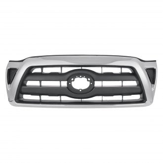 TOYOTA TACOMA AWD RWD 05-10 FRONT GRILLE CHROME BLACK