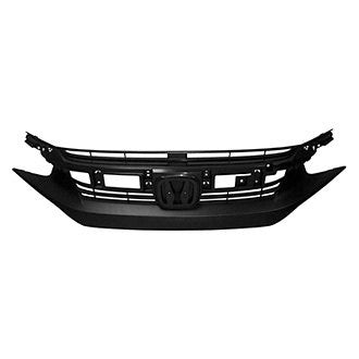 HONDA CIVIC 16-19 SDN/ CPE GRILLE FR TEXTURED BLACK EXCLUDE SI