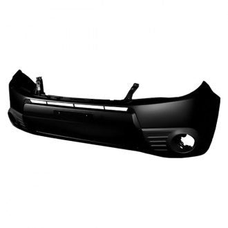 SUBARU FORESTER 09-13 FRONT BUMPER PRIMED WITH FOG LAMP HOLE