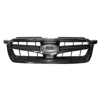 SUBARU LEGACY SEDAN 08-09 FRONT GRILLE CHROME BLACK