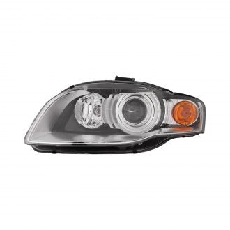 AUDI A4-S4 05-08 // A4 - S4 CABRIO CONVERTIBLE 07-09 DRIVER SIDE HEAD LAMP HID WITHOUT CURVE HQ