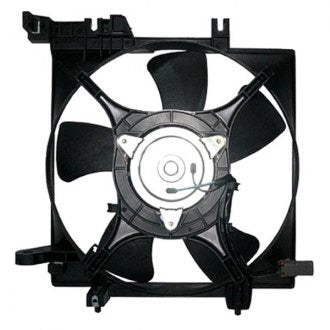 SUBARU LEGACY 05-09 RADIATOR FAN ASSEMBLY 4 CYL WITH TURBO