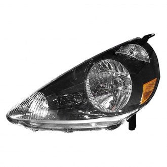 HONDA FIT 07-08 DRIVER SIDE HEAD LAMP BLACK HQ