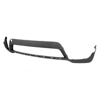 BMW X5 11-13 FRONT BUMPER LOWER MATT DARK GRAY WITH OUT SENSOR HOLE