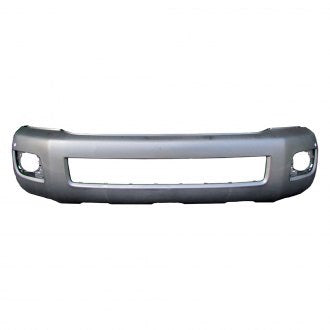 TOYOTA SEQUOIA 15-19 FRONT BUMPER PRIMED WITH SENSOR/ WITH FOG LAMP HOLE