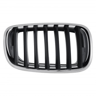 BMW X5 07-13 // X6 08-14 FRONT DRIVER SIDE GRILLE CHROME BLACK