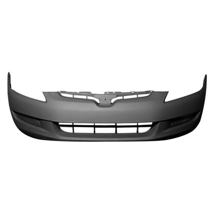 HONDA ACCORD 03-05 CPE FRONT BUMPER PRIMED 4 CYL / V 6 WITH OUT FOG LIGHT CAPA
