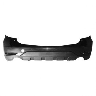 SUBARU FORESTER 09-13 REAR BUMPER PRIMED WITH LOWER TEXTURED CAPA