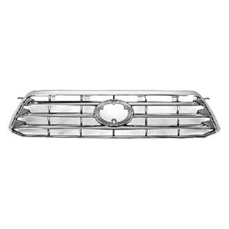 TOYOTA HIGHLANDER 08-10 FRONT GRILLE LTD MODEL PAINTED SILVER GRAY/GRAY