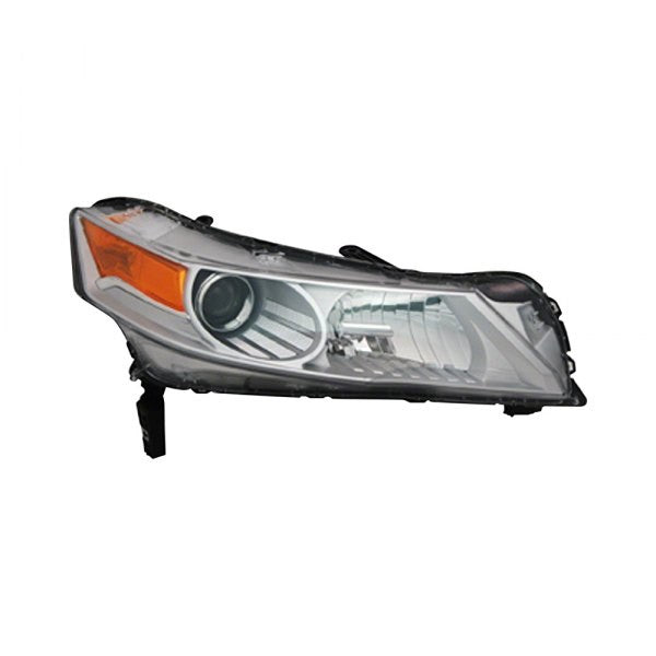 Acura TL 09-11 head lamp passenger side HID