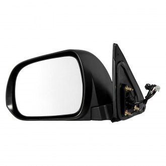 TOYOTA HIGHLANDER 08-13 DRIVER SIDE DOOR MIRROR POWER HTD WITH PUDDLE LAMP PTM