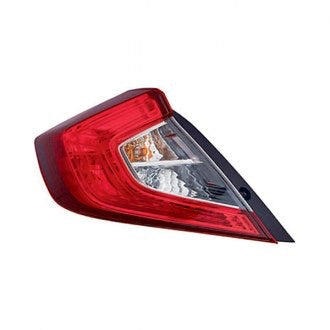 HONDA CIVIC 16-19 SDN DRIVER SIDE TAIL LAMP CAPA