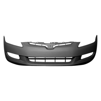 HONDA ACCORD 03-05 CPE FRONT BUMPER WITH FOG LIGHT HOLE M/T