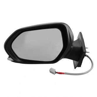 TOYOTA PRIUS 16-17 DRIVER SIDE DOOR MIRROR POWER HTD WITH OUT BLIND SPOT MATT BLACK COVER