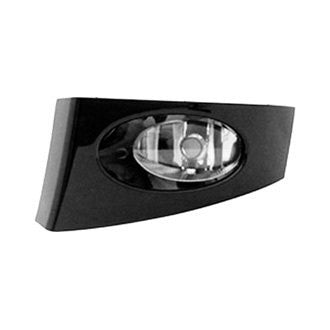 HONDA FIT 07-08 DRIVER SIDE FOG LAMP W/ BLACK PAINTED BEZEL CODE B92P