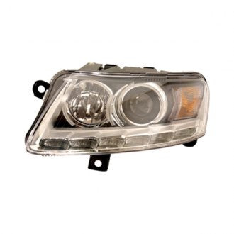 AUDI A6 & S6 09-11 DRIVER SIDE HEADLIGHT XENON WITH AUTO LEVELING WITHOUT CURVE HQ