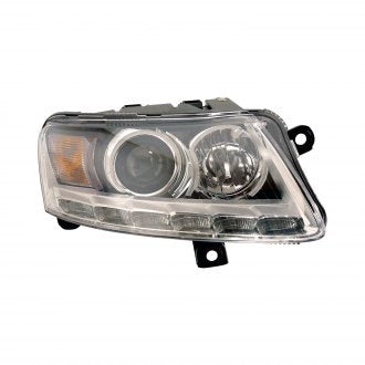 AUDI A6 & S6 09-11 PASSENGER SIDE HEADLIGHT XENON WITH AUTO LEVELING WITHOUT CURVE HQ