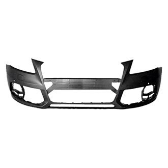 AUDI Q5 13-17 FRONT BUMPER WITH HEADLIGHT WASHER HOLE / WITH SENSOR HOLE / WITHOUT S-LINE MODEL PRIMED CAPA