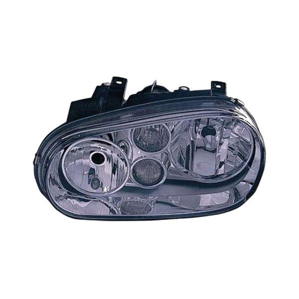 HEAD LAMP LH W/FOG (CHROME BEZEL) 99-02 HQ
