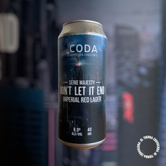 CODA DON'T LET IT END (Imperial Red Lager)