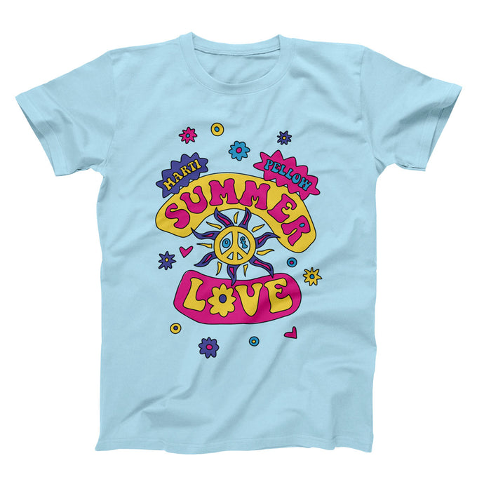 Summer of Love T-Shirt — Light Blue