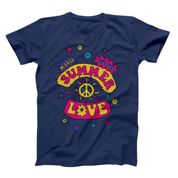 Summer of Love T-Shirt — Navy Blue