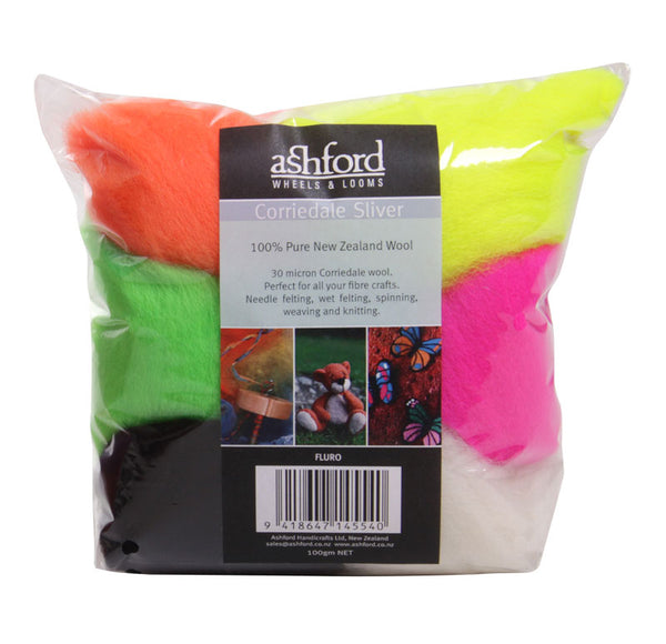 Corriedale wool blended wicks (100g bag) - Ashford