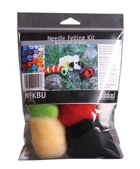 Ashford Needle Felting Kit - Bugs