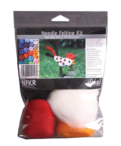 Needle Felting Kit - Rooster - Ashford