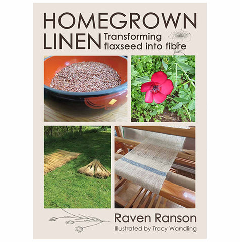 Livre : Homegrown Linen, transforming flaxseed into tiber